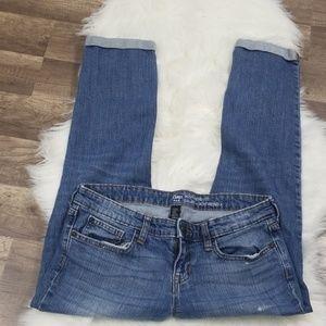 Gap Boyfriend Fit Capri Jeans